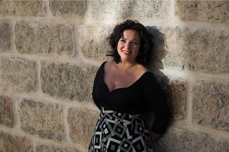 La soprano, Carmen Solís.